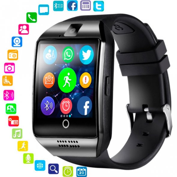 Smart Q18 UWatch NFC Black