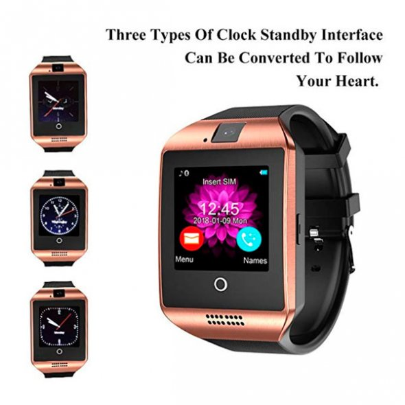 Smart Q18 UWatch NFC Gold