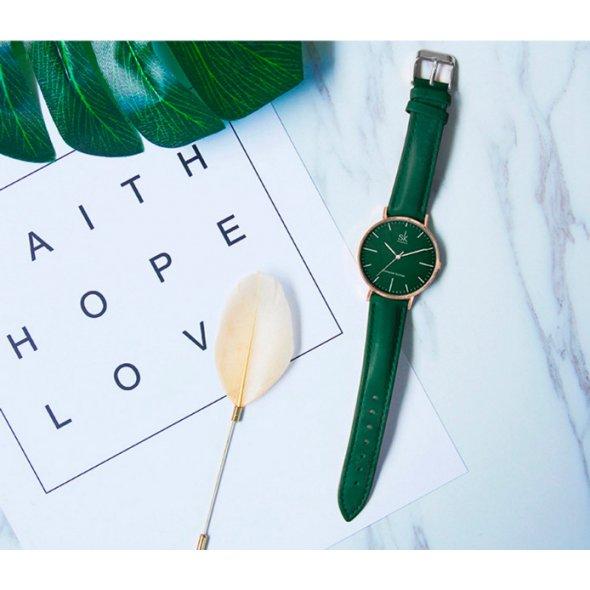 Shengke Leather Green