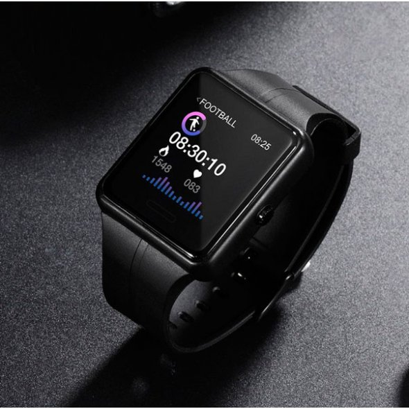 Skmei Smart Computer + Black с измерением давления