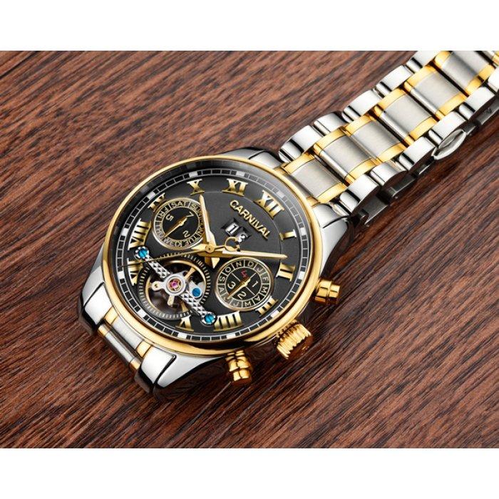 Чоловічий годинник Carnival Sappfire Silver. Купити годинник ... 9668bbbc353ad