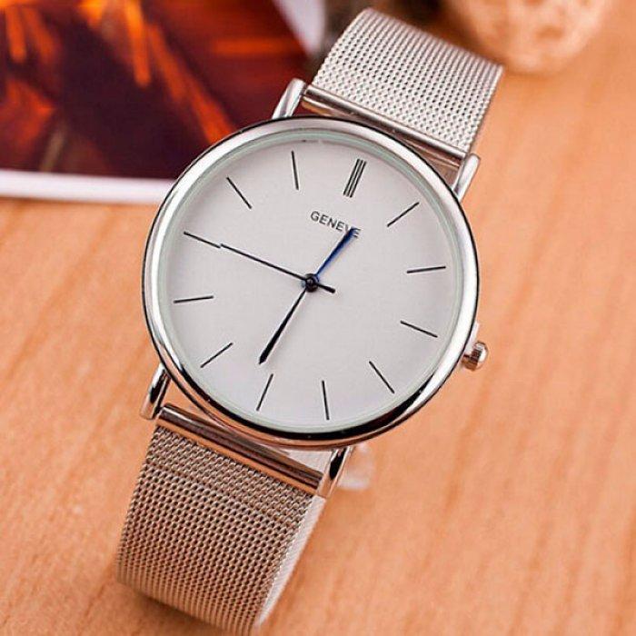 Жіночий годинник Geneva Steel Silver. Купити годинник Geneva Steel ... a243dc7e2155c