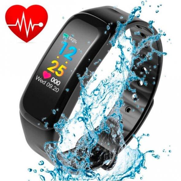 Smart Maxi Water Black с пульсометром