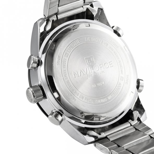 Naviforce Army Silver