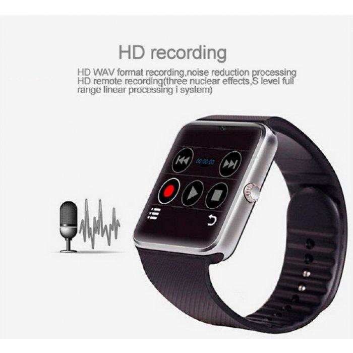 Розумний годинник Smart GT08 Black за самою низькою ціною. Купити в ... c94403a6b85fb