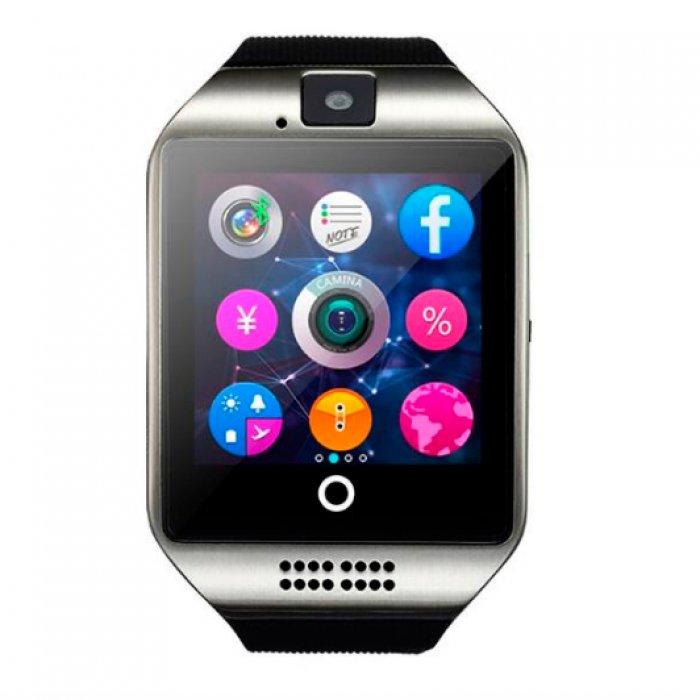 Умные часы Smart Q18 UWatch NFC Black по самой низкой цене. Купить в ... 4672ef8fc2a33