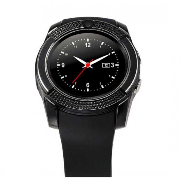 Розумний годинник Smart V8 Black за самою низькою ціною. Купити в ... c0553221c7caa