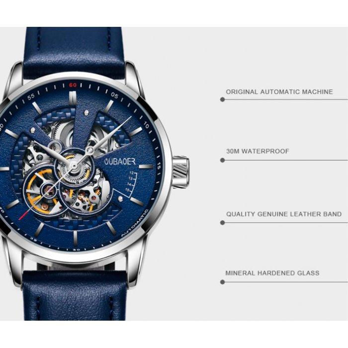 Чоловічий годинник скелетон Oubaer Night. Купити годинник скелетон ... 63a154fdd4699