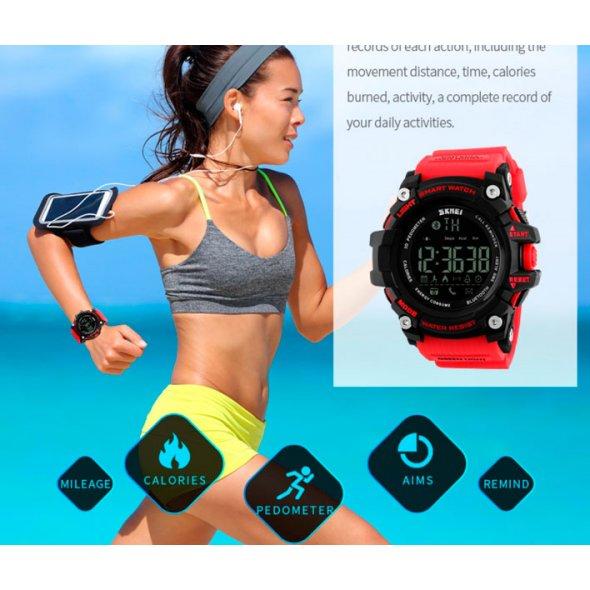 Skmei Smart Watch Red 1227R