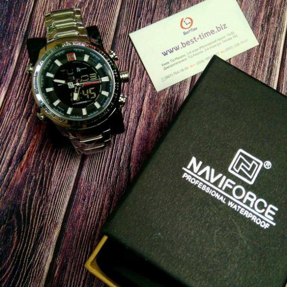 Naviforce Savonna Silver 9093