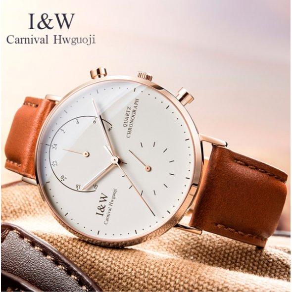 Carnival Chronograph White