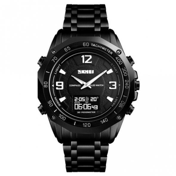 Skmei Kompass PRO Black shock resistant