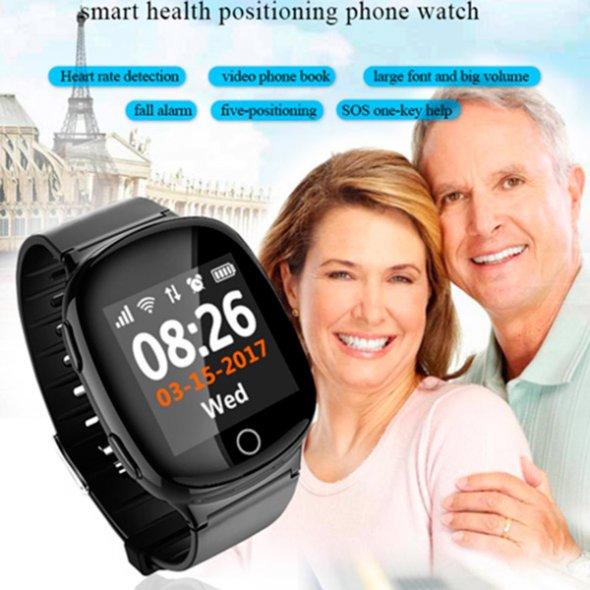 Smart GPS D100 Black для пожилых