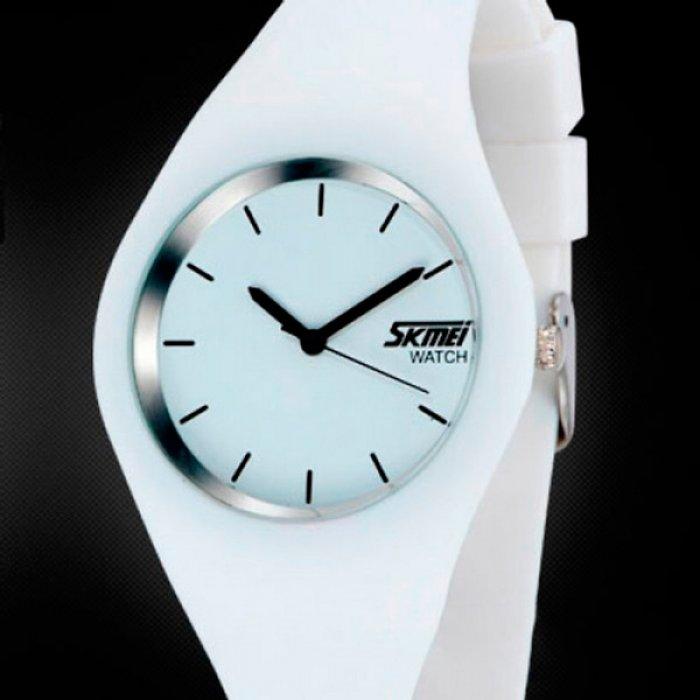 Skmei Rubber White II 9068C