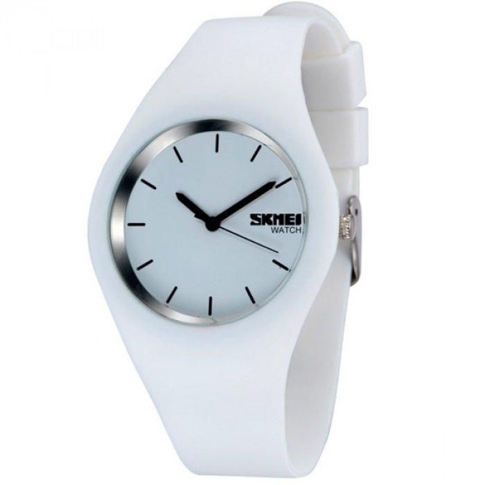 Skmei Rubber White 9068C