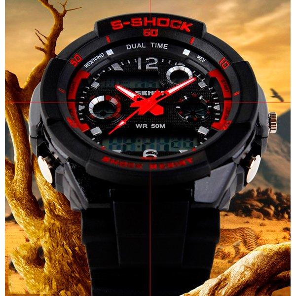 Skmei S-Shock Red 0931R