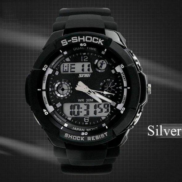 Skmei S-Shock Black 0931B