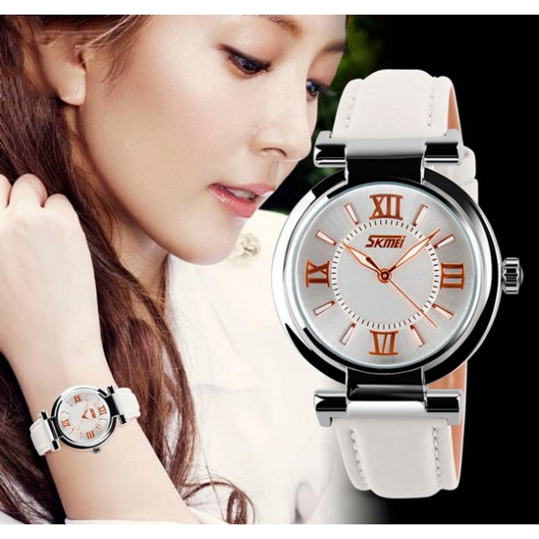 Skmei Elegant White 9075