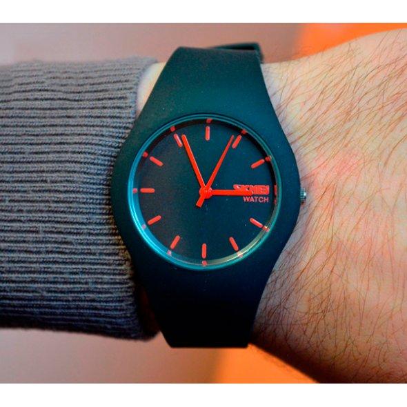 Детские часы Skmei Rubber Black 9068