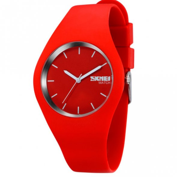 Skmei Rubber Red 9068R