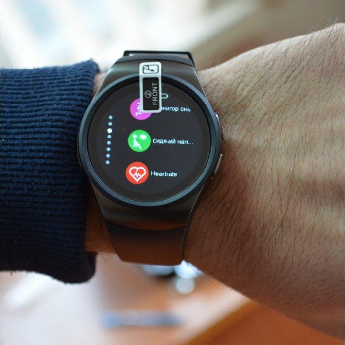 Умные часы Smart KW18 Black по самой низкой цене. Купить в магазине ... 7b52fcb986de6
