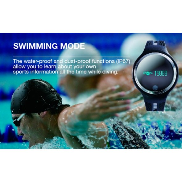 Smart E07 Swimming Black