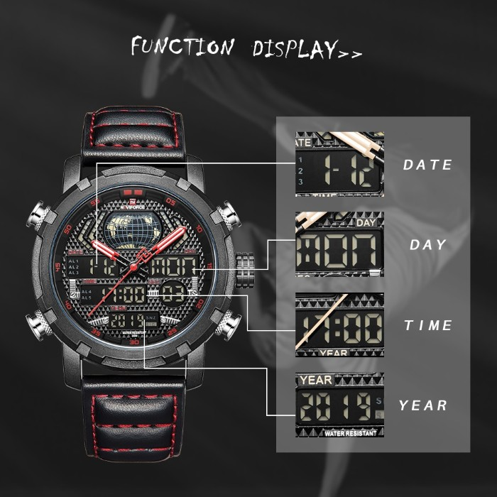 Naviforce World NF9160 Black