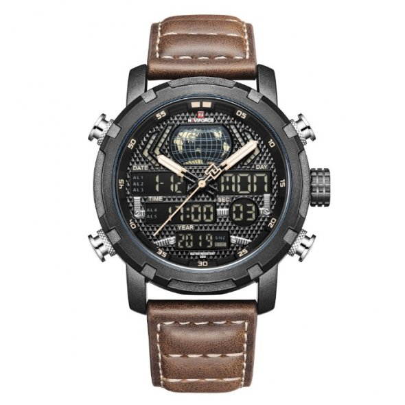 Naviforce World NF9160 Brown