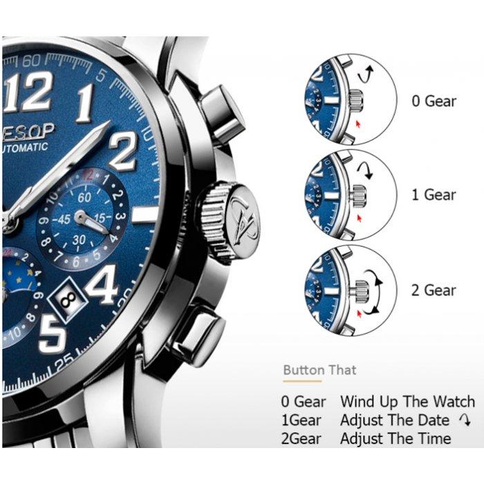 Чоловічий годинник Aesop Original. Купити годинник Aesop Original у ... d3b15a2d02437