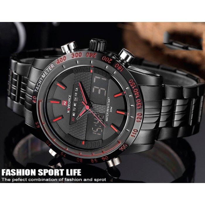 Мужские спортивные часы Naviforce Army NF9024. Купить спортивные ... 92faed702cde2