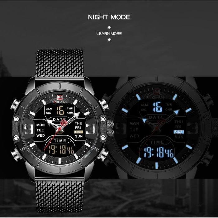 Naviforce Tesla Black NF9153