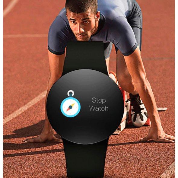 Smart Skmei Monitor PRO Black с пульсометром