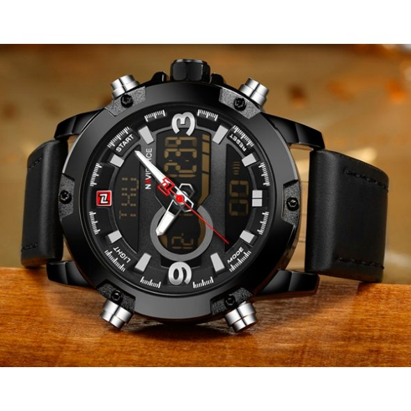 Naviforce Kosmos Black NF9097
